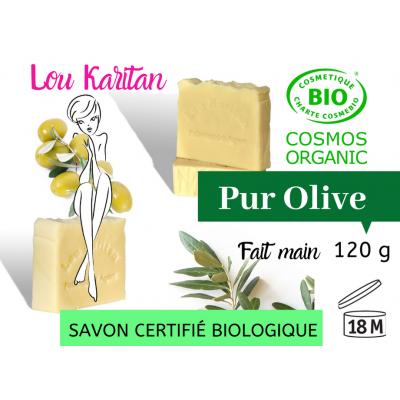 Savon bio 100 % pur Olive 120 g