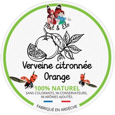 BOISSON DESALTERANTE ORANGE/VERVEINE CITRONNEE
