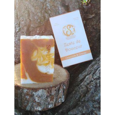 Savon Zeste de Douceur  Calendula & Orange