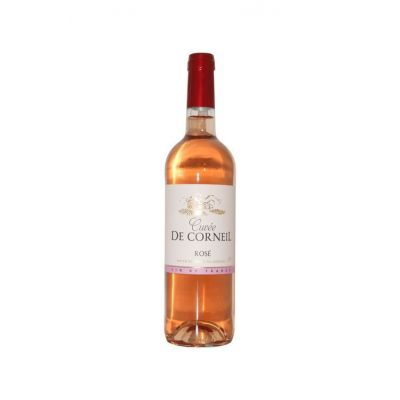 Rosé Cuvée de Corneil VDF Carton de 6 bouteilles