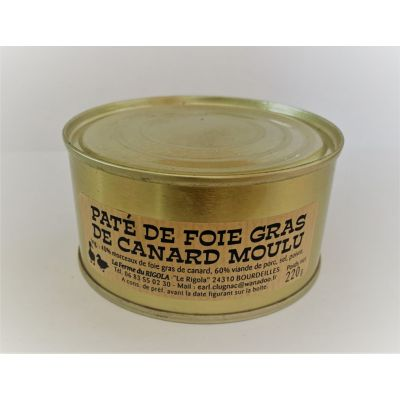 Pâté de Foie gras Moulu de Canard 220gr