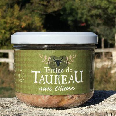terrine de taureau aux olives