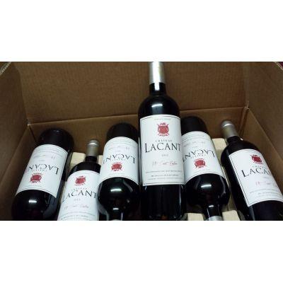 Gd Vin de Montagne St Emilion Chateau Lacant 2014 et 2015 Vin Bio