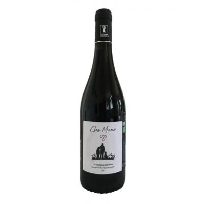 Rouge Bio AOP Côtes du Roussillon villages les Aspres « Les vignes de mon père » 2017
