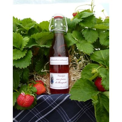 Vinaigre aux fraises de plougastel