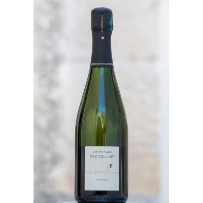 Champagne biologique Extra Brut Cuvée Temporis 75 CL  Certifié Ecocert FR-BIO-01