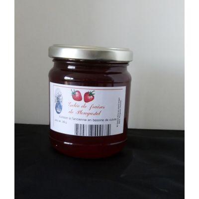 Gelée de fraises de Plougastel