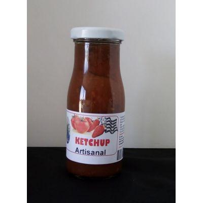 Ketchup artisanal tomates et fraises de Plougastel