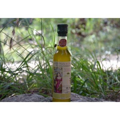 Huile d'olive 25 cl à l'ail
