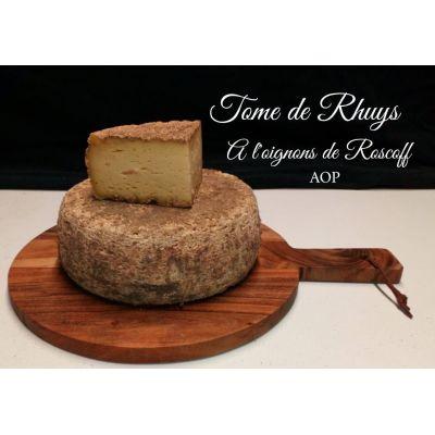 Tome de Rhuys Oignons de Roscoff - 1/4 soit 500g