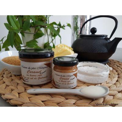 CREME DE CARAMEL au beurre salé à la fleur de sel de Guérande - 130 g