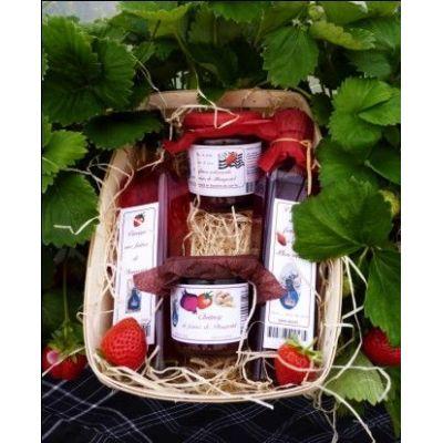 Coffret sucré /salé autour de la fraise de Plougastel