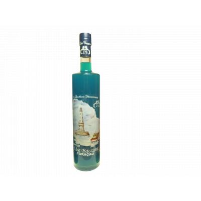 Cocktail au Cognac et Curacao