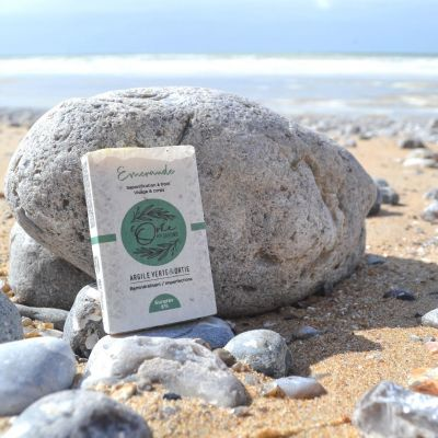 Savon solide Emeraude - Argile Verte & Ortie - Imperfections