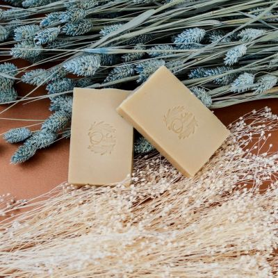 Savon solide L'Ambroisie - Miel & Calendula - Peaux délicates / Imperfections