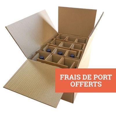 """Caisse E-commerce """"Bières"""" - 12 Bouteilles - 100 exemplaires"""