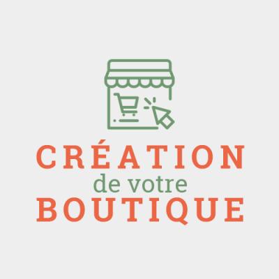 Création de votre boutique en ligne
