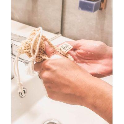 Le filet anti-gaspillage pour savons solides