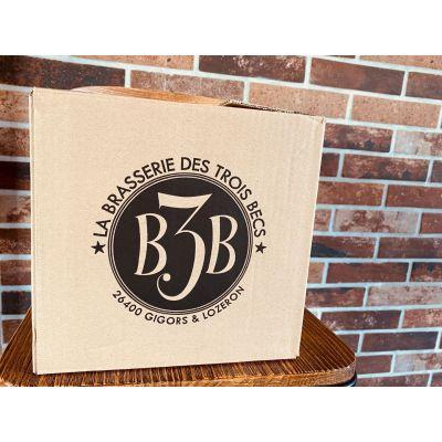 Carton découverte B3B ! - Ambrée 33cl - Blonde 33cl - Ambrée 33cl - Blonde 33cl