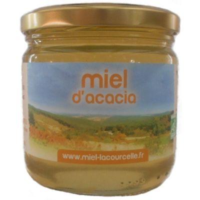 Miel d'acacia BIO - pot de 500g