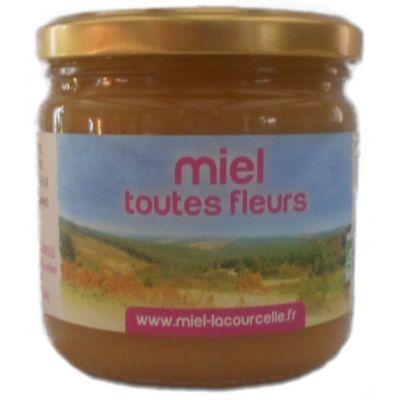 Miel toutes fleurs BIO - pot de 500g