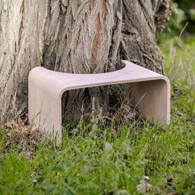 Tabouret de toilette en bois