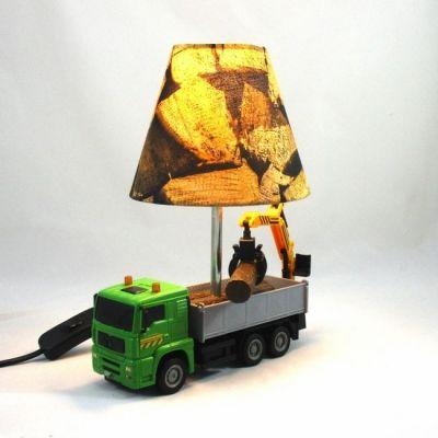 Lampe enfant camion de transport de bois