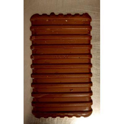 Tablette de chocolat noir au praliné noisette
