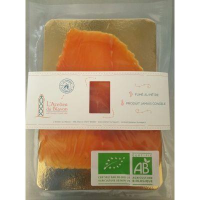 Saumon Bio Irlande Fumé 4 tranches