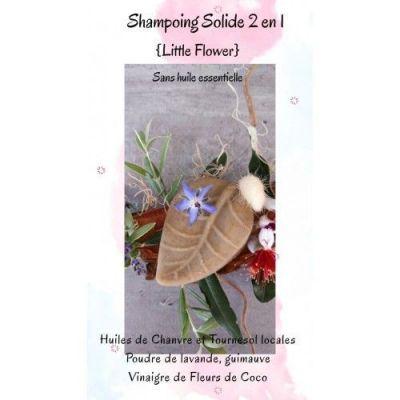 Shampoing solide Little Flower Sans parfum