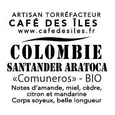 Café Colombie - Piston