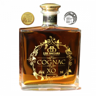 Cognac XO et son étui