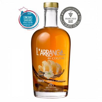 Cognac Arrangé Orange-Vanille-Cannelle