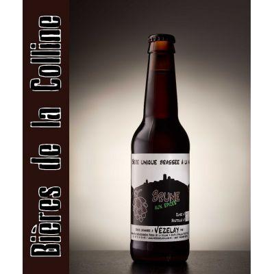 Bière brune bio* aux épices pack 12 x 33cl