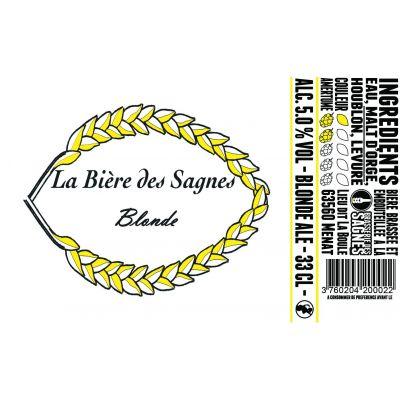 Blonde des Sagnes 12x33cl
