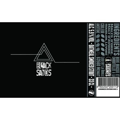 Black Sands 12x33cl