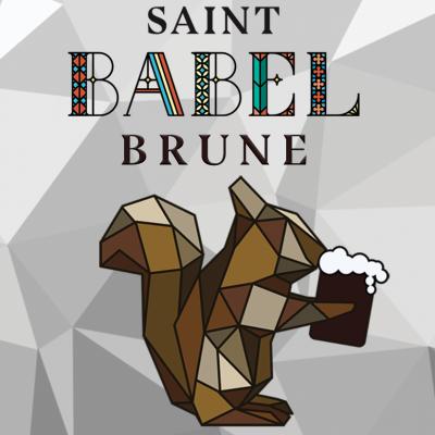 Saint-Babel Brune 33cl