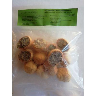 Croquille d'escargot beurre méditerranéen