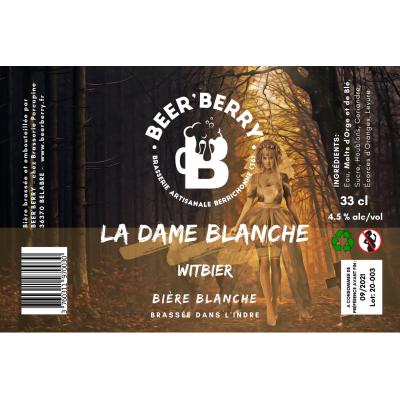 Blanche : La Dame Blanche x 12
