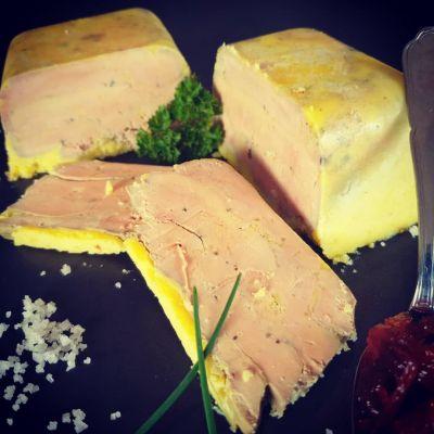 Foie gras mi-cuit de canard Breton
