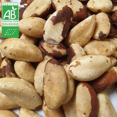 Noix du Brésil BIO finement Toastées, Non salées - 500g