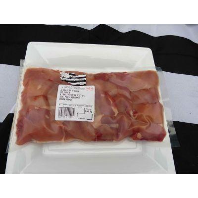 20 filets de caille (500gr + ou - 5%) + 1 terrine de caille (190gr)