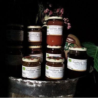Confiture Pomme/Potiron aux 4 épices 420g