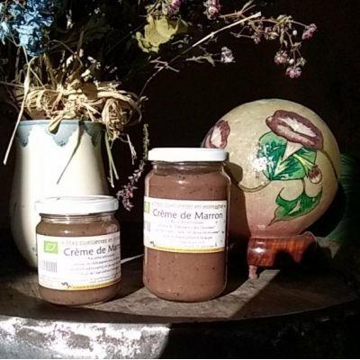 Crème de marron bio 220g