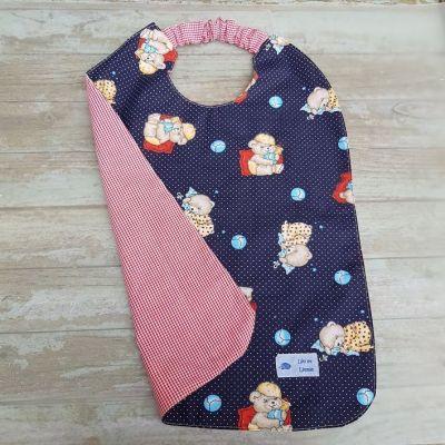 Serviette à élastique pour enfant imprimée oursons