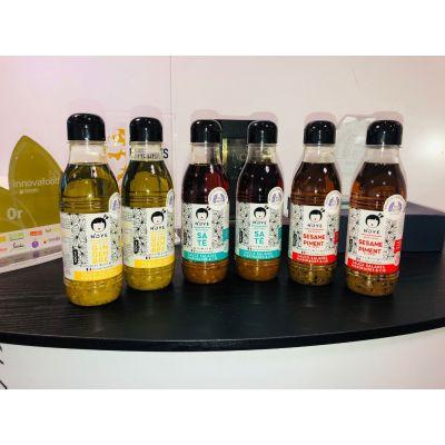 FORMAT RESTAURATEUR N'oye 500 ml (3 x 2 bouteilles Gingembre, Saté, Sésame & Piment)