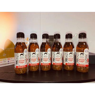 FORMAT RESTAURATEUR N'oye 500 ml Sésame & piment (6 bouteilles)