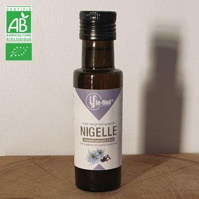 Huile Vierge BIO de Nigelle de Première Pression à Froid