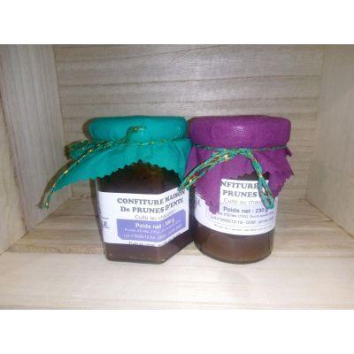 Confiture de prunes d'ente
