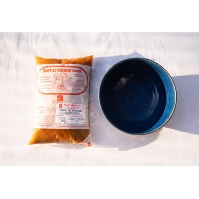 Soupe de Poisson (900g) et Sauce Rouille  (100g)